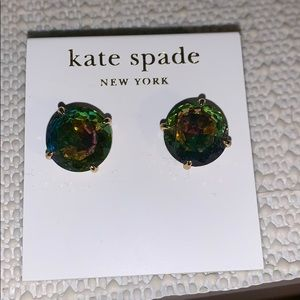 Never worn Kate spade gumdrop studs